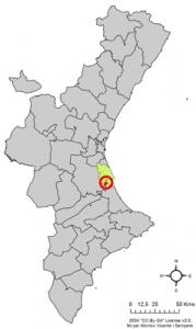 Localització_de_Llaurí_respecte_del_País_Valencià